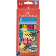Faber-Castell Water Colour Pencils Full 12 Pack Multi-Coloured 12 Pack