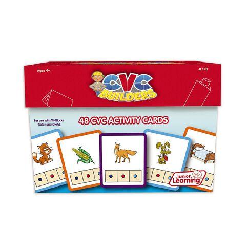 Junior Learning CVC Builders Activity Cards