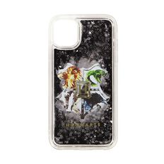 Harry Potter Hogwarts Crest iPhone 11 Glitter Case