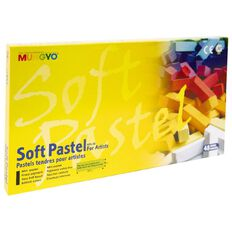 Mungyo Soft Pastels Short 48 Pack
