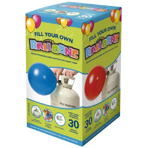 Meteor Helium Balloon Kit Assorted