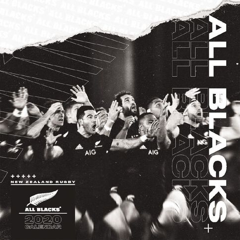 BrownTrout 2021 Square Wall Calendar All Blacks
