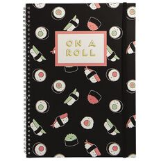 Banter On A Roll Spiral Notebook A4