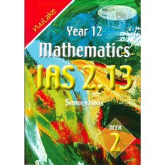 Nulake Year 12 Mathematics Ias 2.13 Simulations