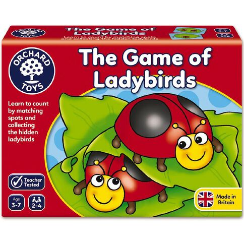 Orchard Toys Game The Game Of Ladybirds