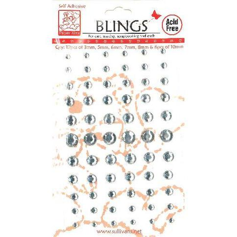 Blings Stick On Clear