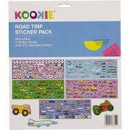 Kookie Sticker Pack 5 Sheets Road Trip