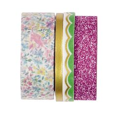Rosie's Studio Chasing Butterflies Washi Tape Set 4 Pack