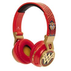 DC Wireless Headphones Wonder Woman