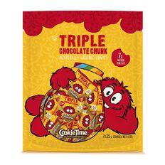 Cookie Time Triple Chocolate Rookie Cookies 175g (7x25g)