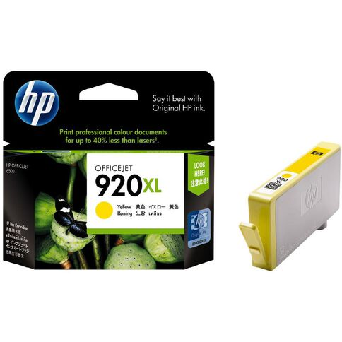 HP Ink 920XL Yellow (700 Pages)