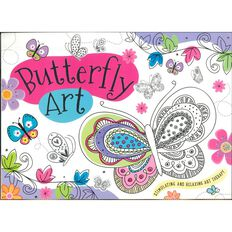 Butterfly Art Pad A3