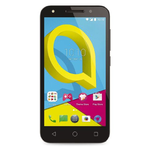 2degrees Alcatel U5 Grey
