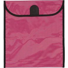 GBP Stationery Book Bag Zipper Pocket Pink 370mm x 335mm