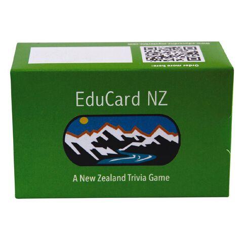 EduCard NZ Trivia Card Game