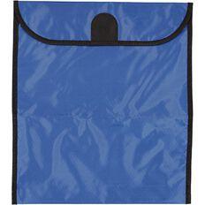 GBP Stationery Book Bag Zipper Pocket Blue 370mm x 335mm