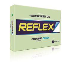 Reflex Paper 80gsm Tints 500 Pack Green A3