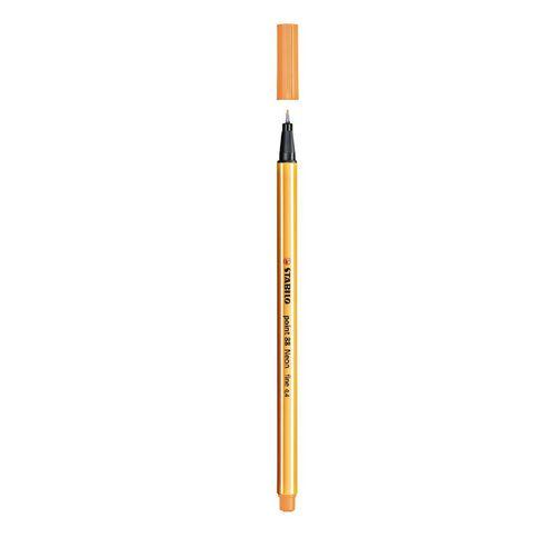 Stabilo Point 88 Fineliner 0.4mm Neon Orange
