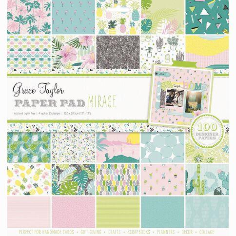 Grace Taylor Paper Pad 12 x 12 Mirage