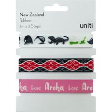 Uniti New Zealand Ribbon 3pc