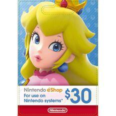 Nintendo $30 Network Card