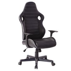 Workspace Lincoln Chair Black