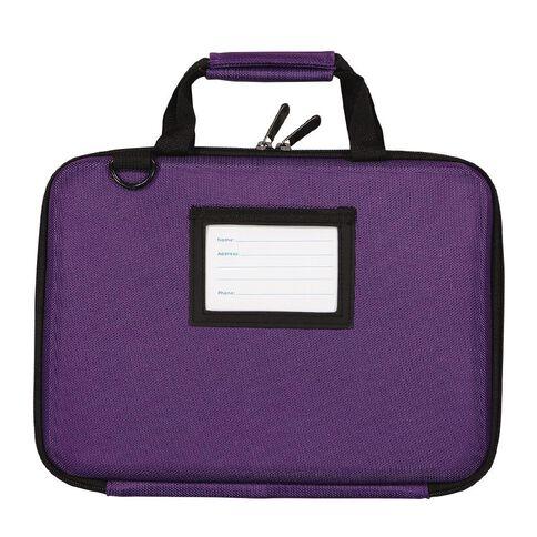 Tech.Inc 11.6 Inch Hard-Shell Chromebook Case Purple