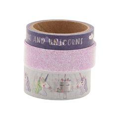Uniti Washi Tape Purple 3 Pack