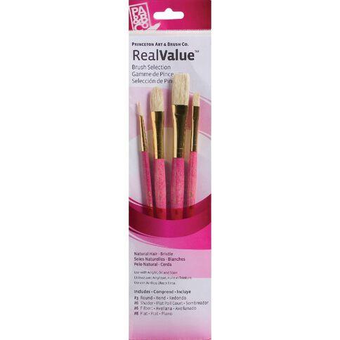 Princeton Artist Brush Co. Brush Bristle Round 3 Shader 6