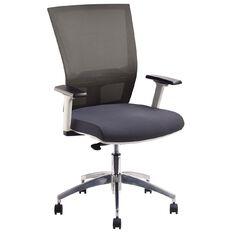 Jasper J Advance Air Plus Ergonomic Syncro Chair White/Charcoal