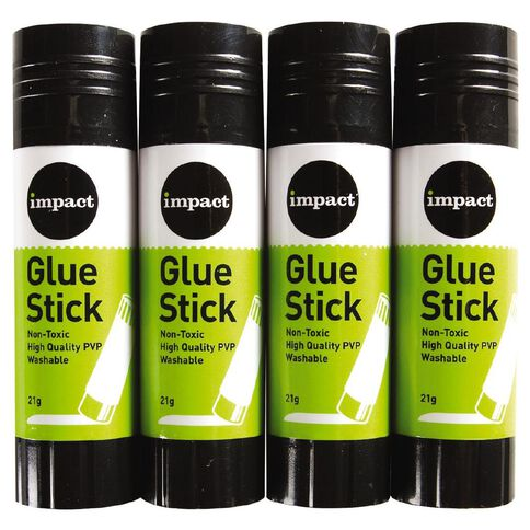 Impact Glue Stick 21g 4 Pack
