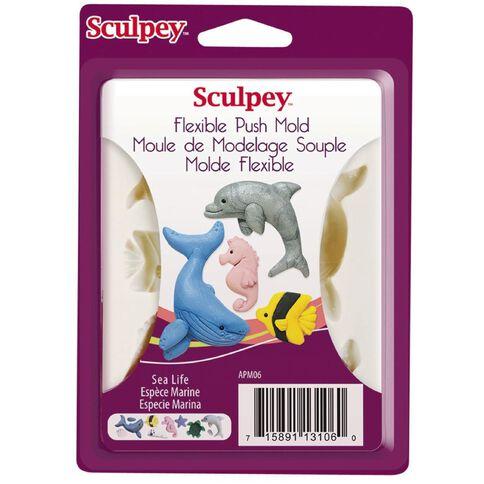 Sculpey Push Mold Sea Life