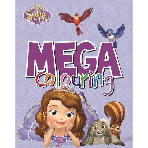 Disney Sofia Mega Colouring