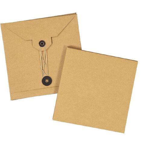 Uniti Cards & Envelopes Pocket Kraft 3 Pack