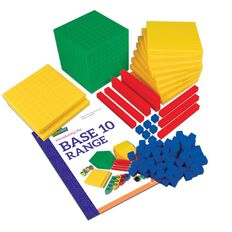 Tfc Mab Base Ten Student Set Plastic Multi-Coloured