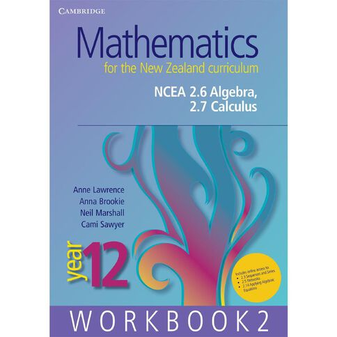 Ncea Year 12 Mathematics For Nz Curriculum Workbook 2