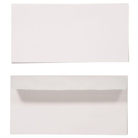 Create With DL Envelope 25 Pack White