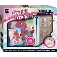 Crystal Creations Shine On DIY Diary Kit