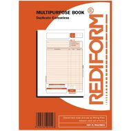 Rediform Multipurpose Book Triplicate 50 Sets A5