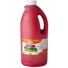 FAS Paint Super Tempera 2L Crimson Red Red 2L