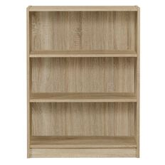 Workspace Soho 3 Tier Bookcase Oak