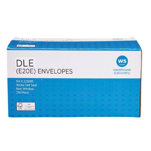 Impact Envelope DLE E20E Seal 250 Pack