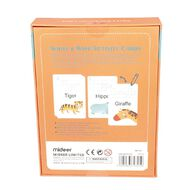 Wipe And Write Activity Word Cards