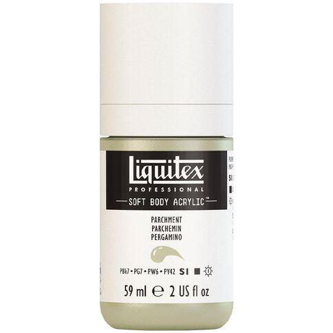 Liquitex Soft Body Acrylic 59ml Parchment S1