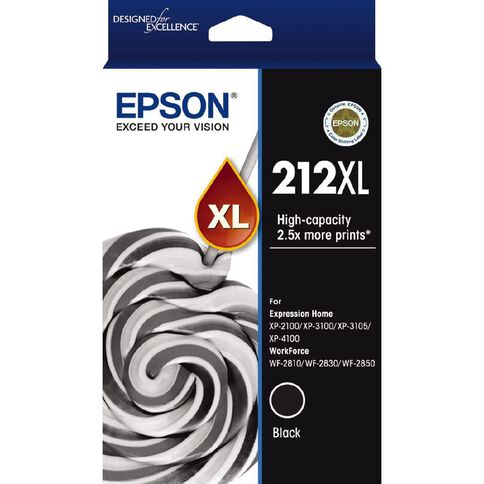 Epson Ink 212XL Black (500 Pages)