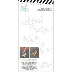 Heidi Swapp Hawthorne Stickers Double-Sided Foam Words