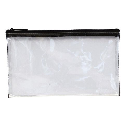 Pencil Case Tinted Exam Clear Multi-Coloured