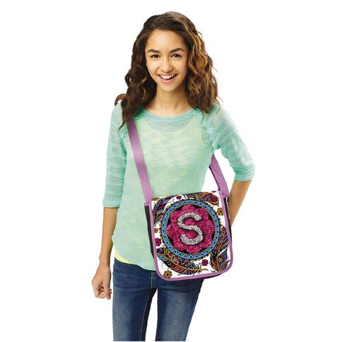 Shimmer n Sparkle Sequin Magic Messenger Bag