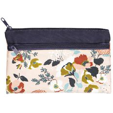 Uniti Winter Bloom 2 Pocket Pencil Case