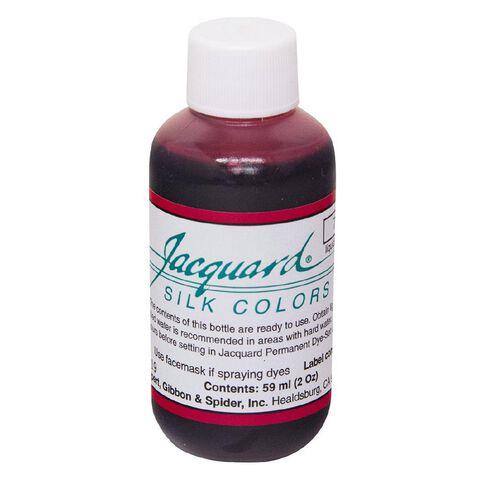 Jacquard Silk Green Label Dye 59.15ml Magenta Red